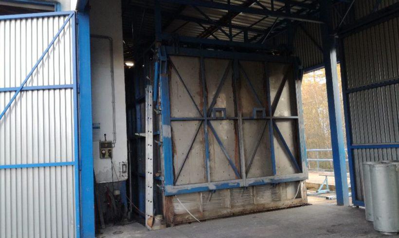 Termická desorpce – zařízení pro nakládání snebezpečnými odpady